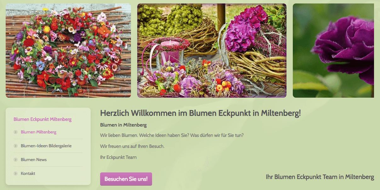Bildergalerie Floristik