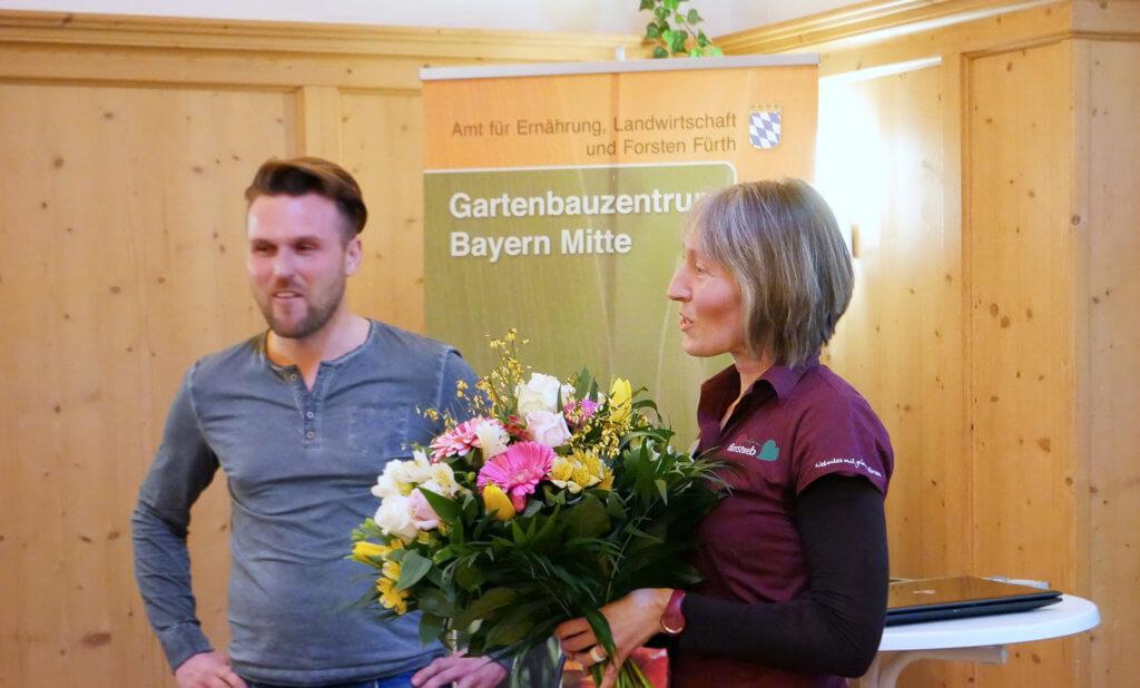 Lin Scherer Vortrag Blumenstrauss