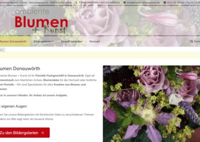 Ambiente Blumen Donauwoerth