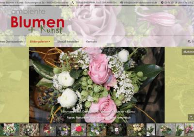 Ambiente Blumen Und Kunst