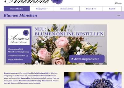 Blumen Anemone München
