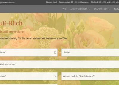 Blumen Hiedl Strauss Klick