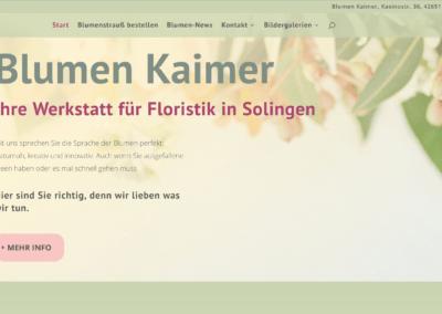 Blumen Kaimer in Solingen