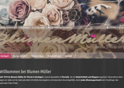 Blumen Mueller Startseite