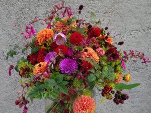 Blumenstrauß im Sommer