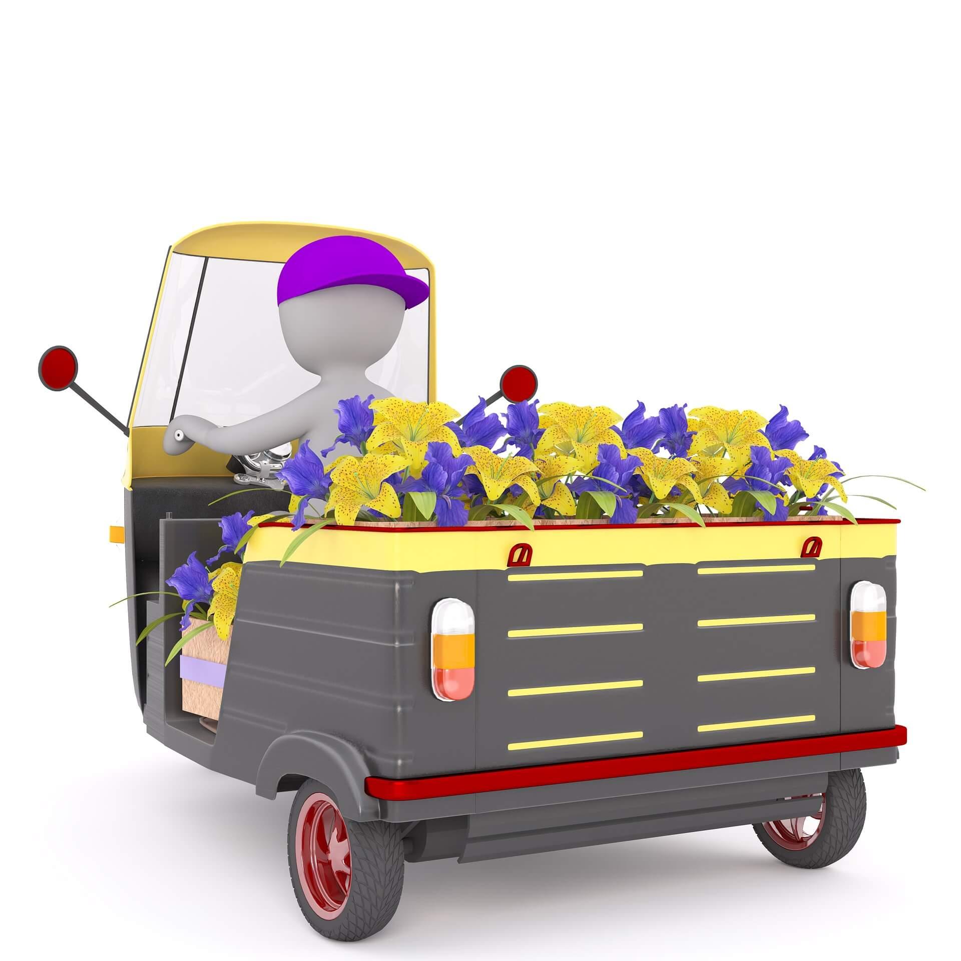 Clipart Blumen Lieferservice