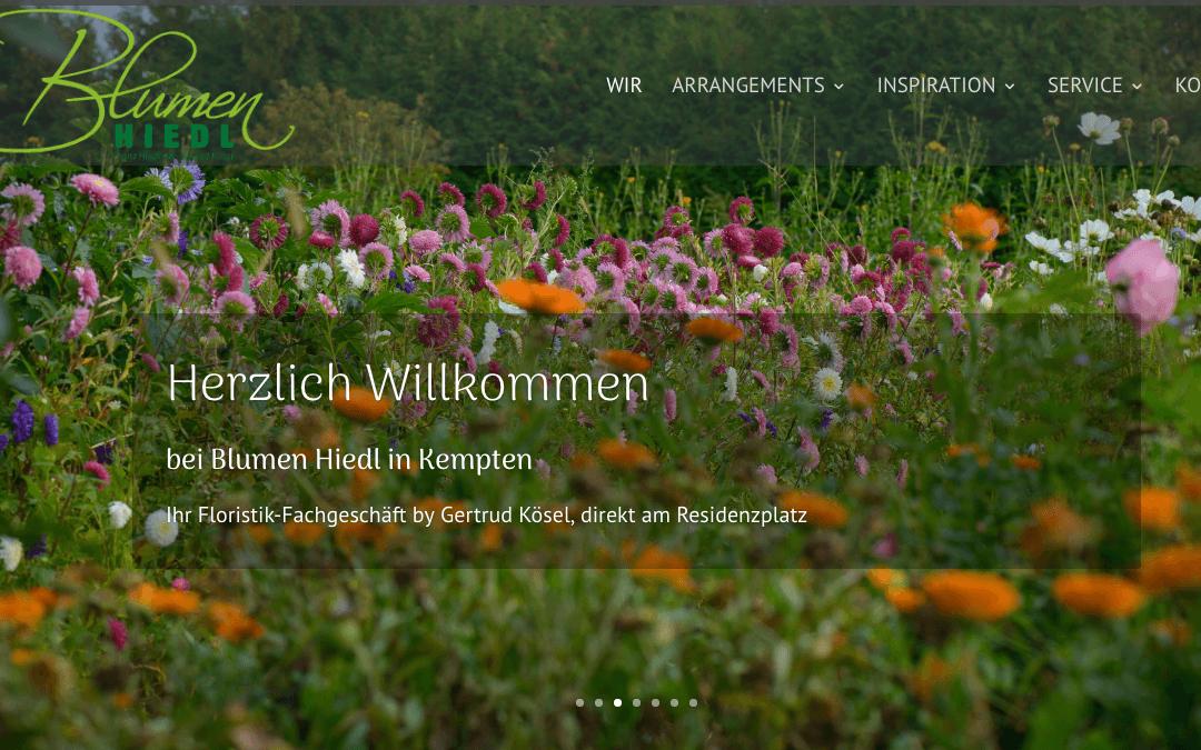 Blumen Franz Hiedl in Kempten