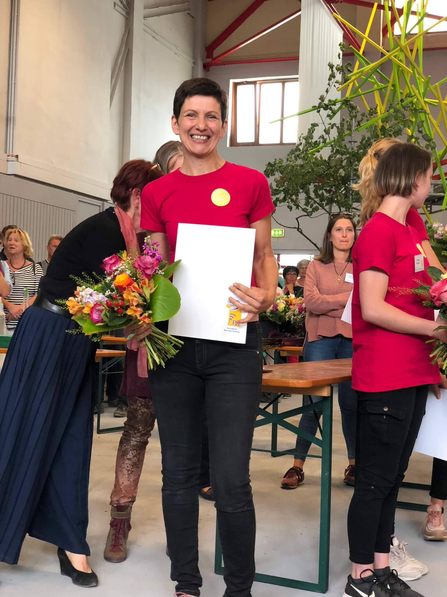 Dritter Platz FrankenCup 2018: Martina Seifert