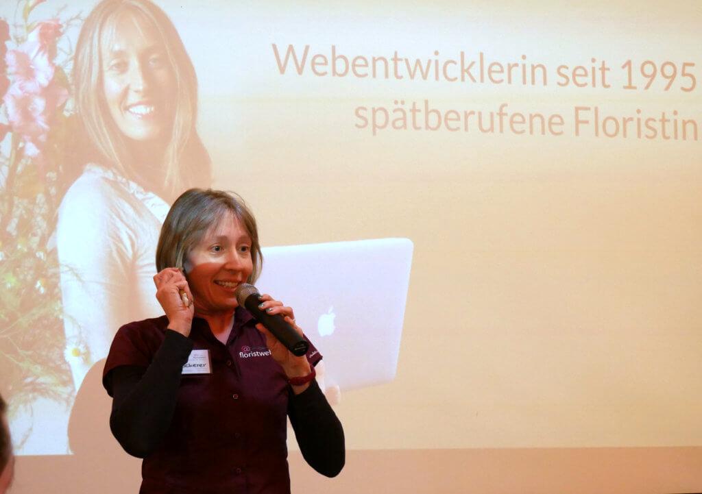 Floristweb Lin Scherer Vortrag