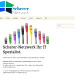 floristweb Referenzen Scherer Netzwerk