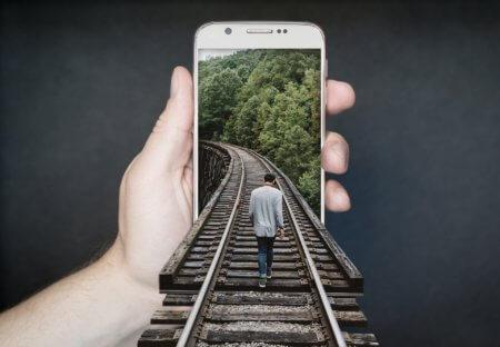 Mobile Webseite Als Bruecke