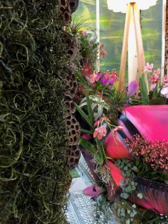 Sessel Mit Orchideen Blumenhalle