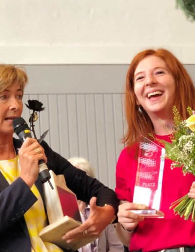 Wanderpokal Coburger Rose 2018